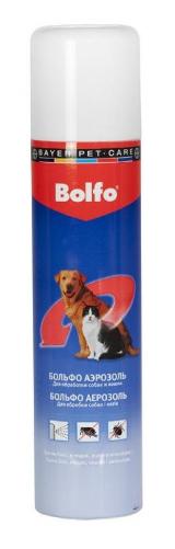 Спрей Bayer Больфо от блох и клещей кошек 250 мл