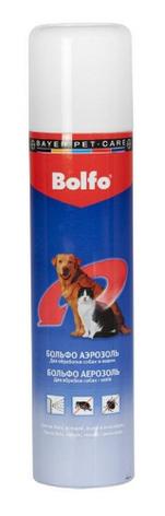 Спрей Bayer Больфо от блох и клещей кошек 250 мл, фото 2
