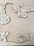 Пазлы Животные, фанера, т. 8 мм, размер 30х30 см. TERMOIZOL®, фото 2