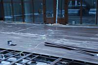Монтаж тераси. Готельний комплекс Арден Палац (Сатанів). Матеріали: ПВХ-мембрана Mapeplan Protection 1.5, терасна система Renwood Terrace