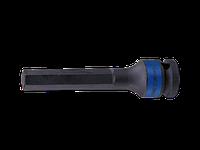 """Насадка (бита) ударная торцевая 1/2"""" HEX 10 мм (L100 мм) KING TONY 406510M (Тайвань)"""
