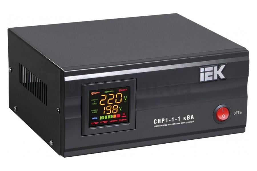 Стабилизатор напряжения СНР1-1-1 кВА электронный стационарный, IEK