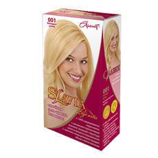 """Гель-фарба для волосся """"Славия"""" тон блондест-супер (код відтінку 001)"""