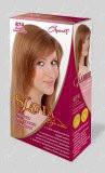 """Гель-фарба для волосся """"Славия"""" тон шоколад з карамеллю (код відтінку 874)"""