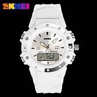 Skmei 0821 easy II белые женские спортивные часы