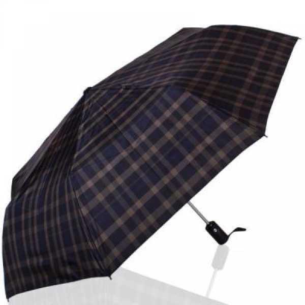 Зонт мужской автомат  ТРИ СЛОНА RE-E-907L-6