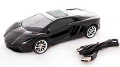 Портативная колонка WSTER WS-800Rl Lamborghini Black