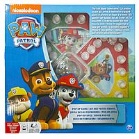 Настольная игра с кнопкой «Щенячий патруль» (мини) SM98283/6028799 Spin Master