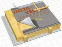 Dorken Delta VENT N Супердиффузионная гидроизоляционная мембрана