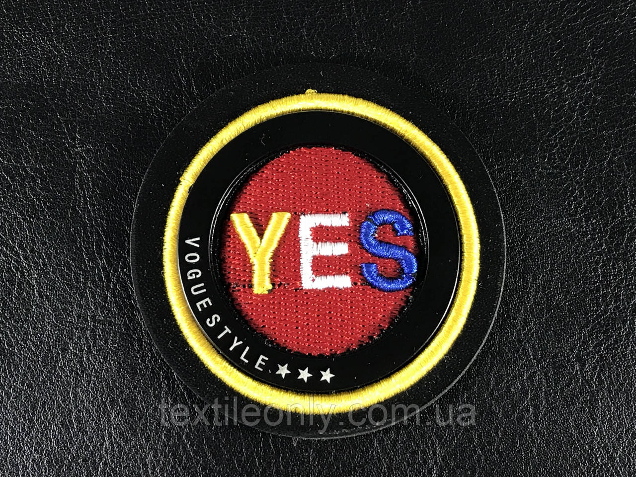 Нашивка Yes 65 мм