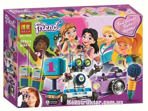 "Конструктор Bela 11034 ""Шкатулка дружбы"" Френдс, 562 деталей. Аналог Lego Friends 41346"