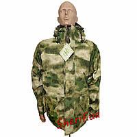 Куртка  ветро-влагозащитная с флисовой подстежкой камуфляж MIL-TEC AT FG 1061505