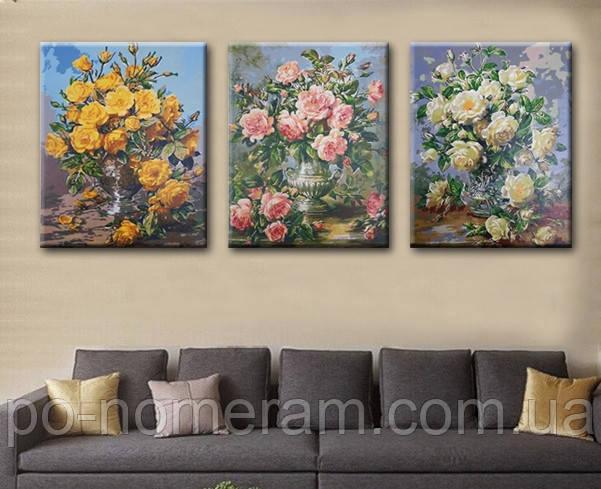 Триптих — нарисуй оригинальные картины для интерьера