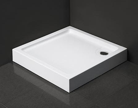 Душевой поддон Dusel D102 квадратный, 80х80х13,5 см
