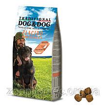 Корм GHEDA Dog&Dog Placido Mantenimento для собак усіх порід (Лосось), 20 кг