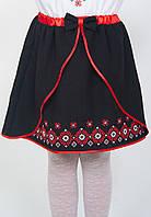 Черная юбка детская в украинском стиле, арт. 4323