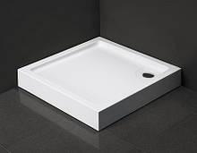 Душевой поддон Dusel D102 квадратный, 90х90х13,5 см