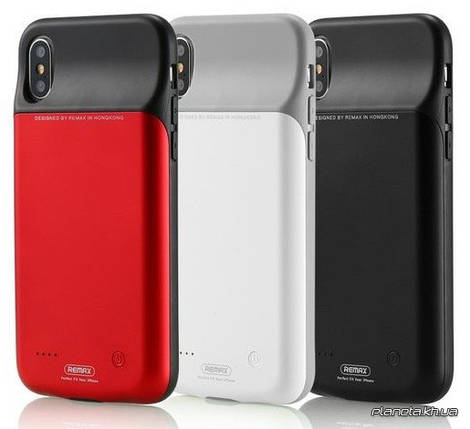 Remax PN-04 Penen чехол-аккумулятор для iPhone X 3200 mAh White, фото 2