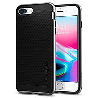 Чехол Spigen для iPhone 8 Plus / 7 Plus Neo Hybrid 2, Satin Silver (055CS22374), фото 1