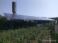 """Сетевая солнечная электростанция под """"зеленый"""" тариф 30 кВт (Новоднестровск)"""