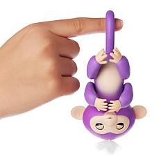 ИНТЕРАКТИВНАЯ FINGERLINGS MONKEY l Игрушка обезьянка l Смешливая обезьянка фиолетовая