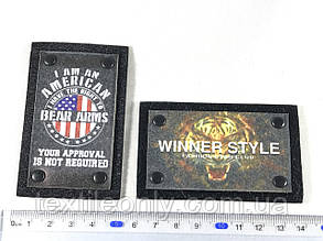 Нашивка  Winner Style 80x50 мм, фото 2