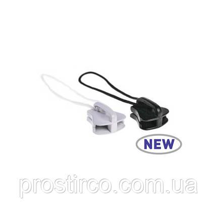 Ползунок пластиковый 58.10.100/105 (черный/белый), фото 2