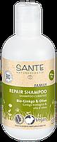 """Шампунь для волос восстанавливающий """"Гинкго билоба и олива"""" Sante 200 мл"""