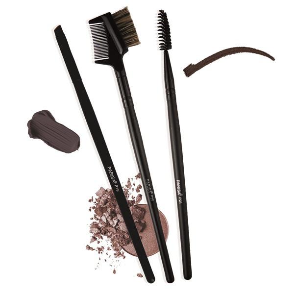 Набор кистей для макияжа бровей