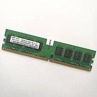 Оперативная память Samsung DDR2 2Gb 800MHz PC2 6400U CL6 (M378T5663RZ3-CF7) Б/У, фото 1