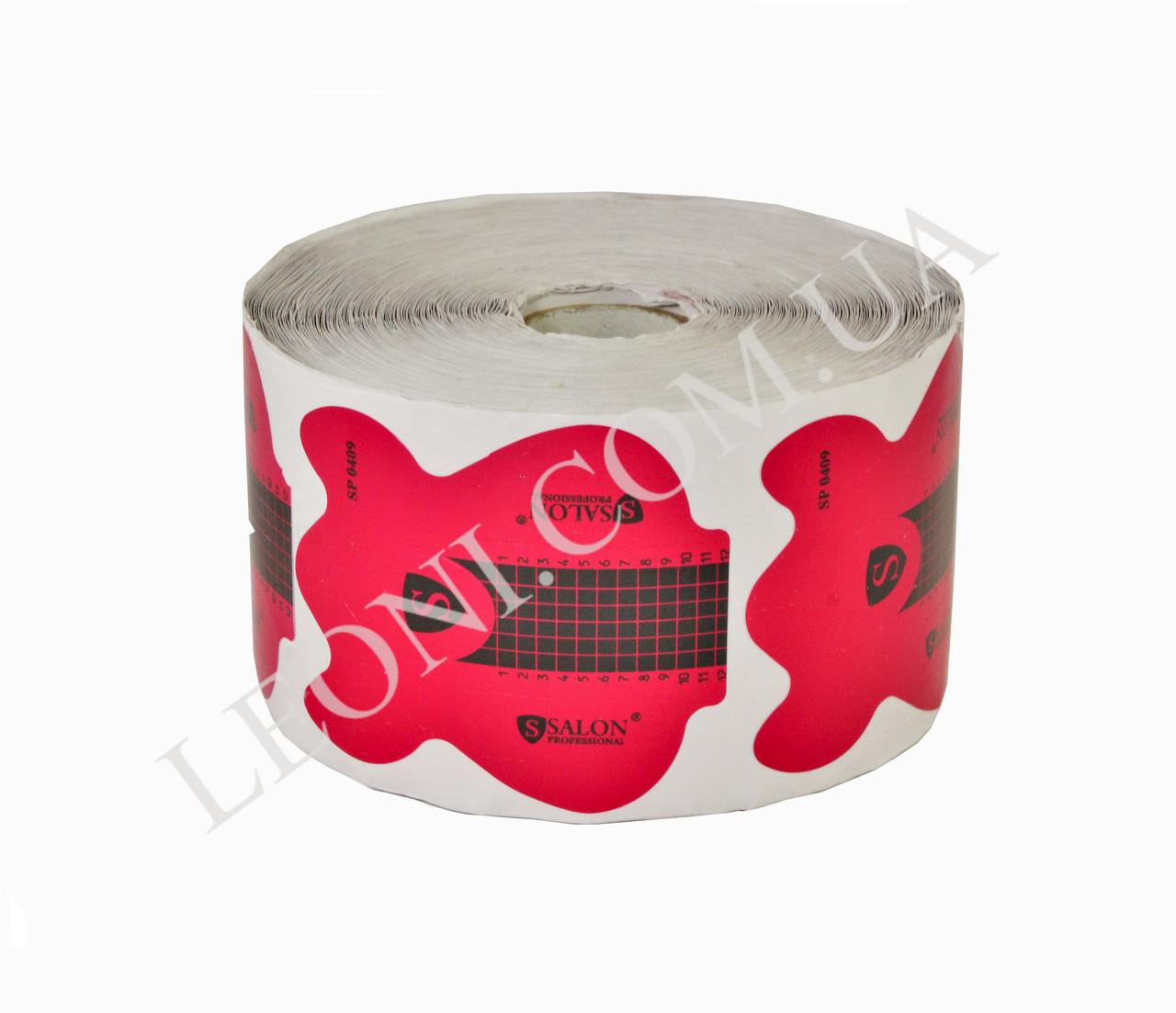 Розовые формы для наращивания ногтей Salon SP0409