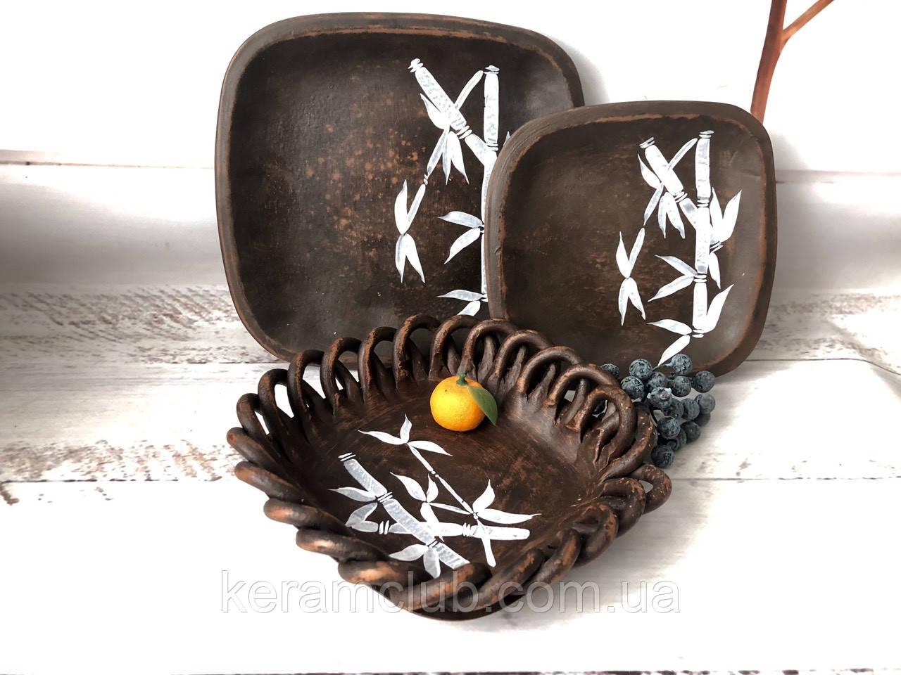 Глиняный набор для суши