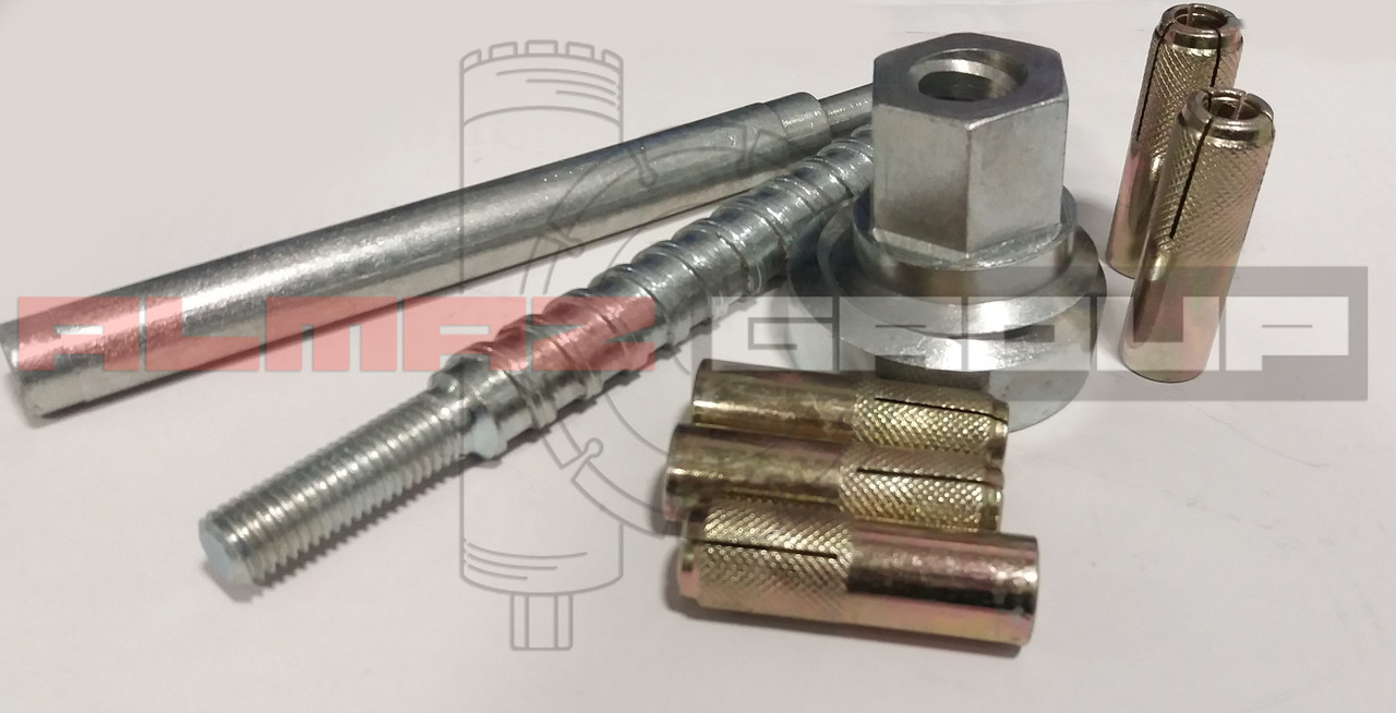 Комплект для анкерного крепления станин Almaz Group (анкерная система)