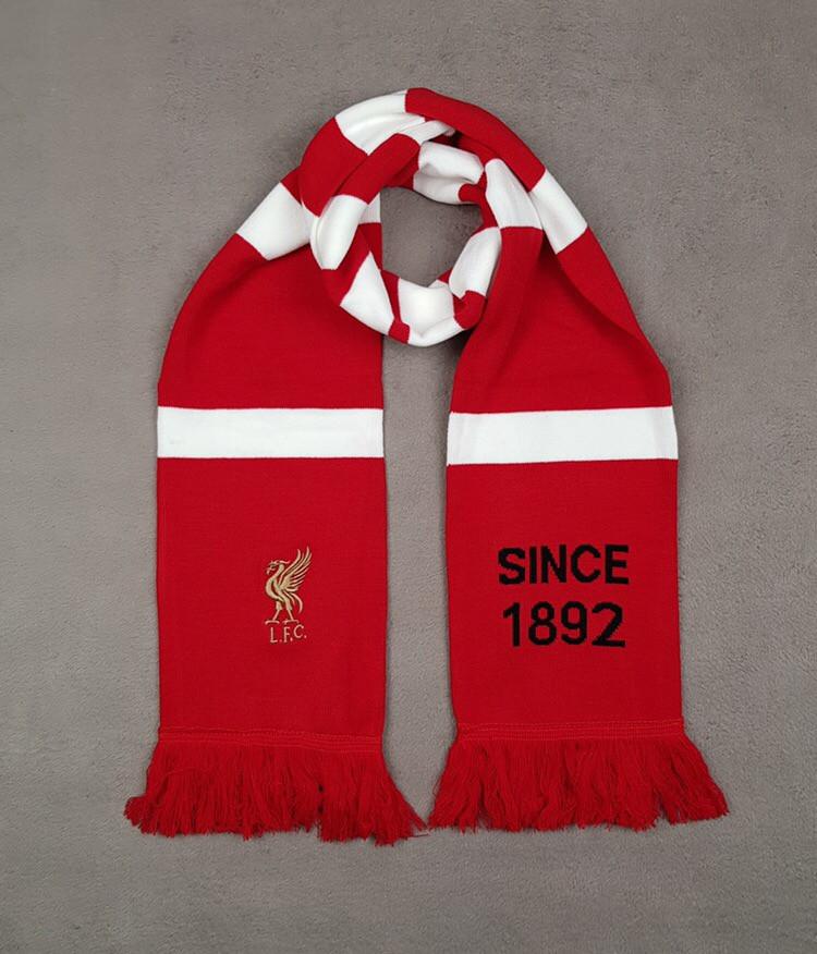 Футбольный шарф Ливерпуль (красный)