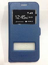 Чехол-книжка Samsung J320 Blue Momax