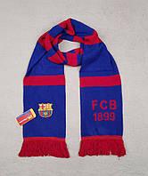 Футбольный шарф Барселона (синий)
