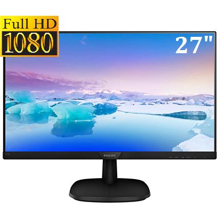 Монитор Philips V-Line 273V7QDSB/00 (27 дюймов, Full HD, режим LowBlue)