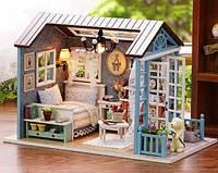 Кукольный домик, миниатюра, DIY набор для сборки, ночник