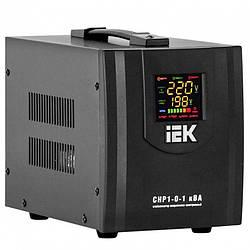 Стабилизатор напряжения СНР1-0-1 кВА электронный стационарный, IEK