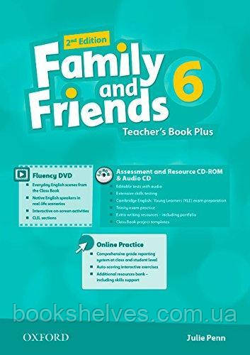 Family and Friends 2nd Edition 6 Teacher's Book Plus + CD-ROM + Audio CD