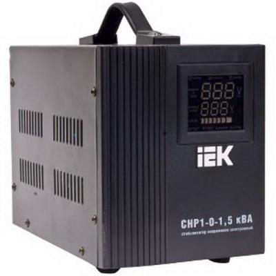 Стабилизатор напряжения СНР1-0-1,5 кВА электронный переносной, IEK