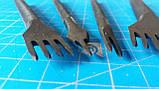 Набір крокових пробійників з ромбічним зубом 4 мм, фото 3