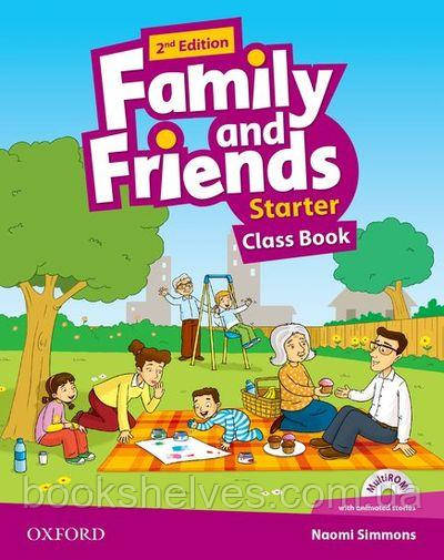 Family and Friends 2nd Edition Starter Corse Book + MultiROM