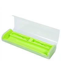 Дорожный футляр для электрической зубной щетки, зеленый, фото 1