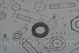 Шайба Ф22 для високоміцних з'єднань DIN 6916