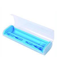 Дорожный футляр для электрической зубной щетки, синий, фото 1