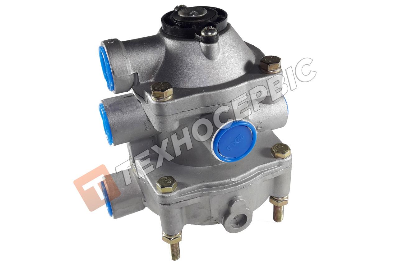 Клапан тормозной прицепа 2-х проводный КАМАЗ, КрАЗ, ЗиЛ клапан управления тормозами