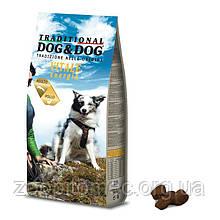 Корм GHEDA Dog&Dog Vitale Energia для дорослих собак всіх порід (Курка), 20 кг