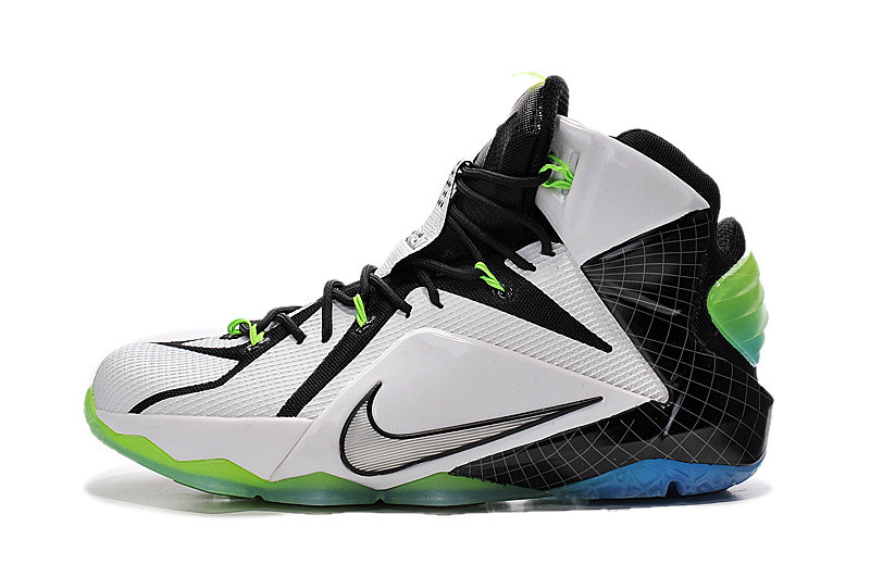 f523e0a8 Баскетбольные кроссовки Nike Lebron 12 white - Интернет магазин обуви Shoes-Mania  в Днепре
