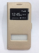 Чехол-книжка Samsung J320 Gold Momax